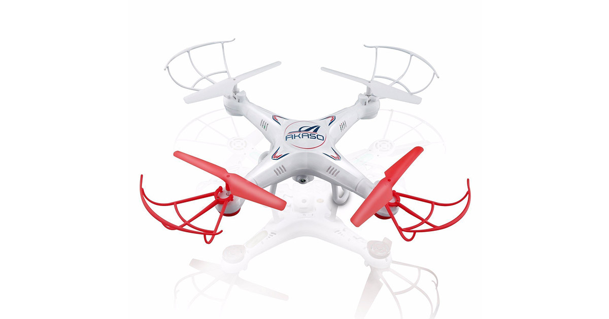 Akaso X5C 4-Channel 2.4 GHz 6-Axis Gyro Headless 360 Degree 3D Rolling Mode RC Drone Quadcopter image