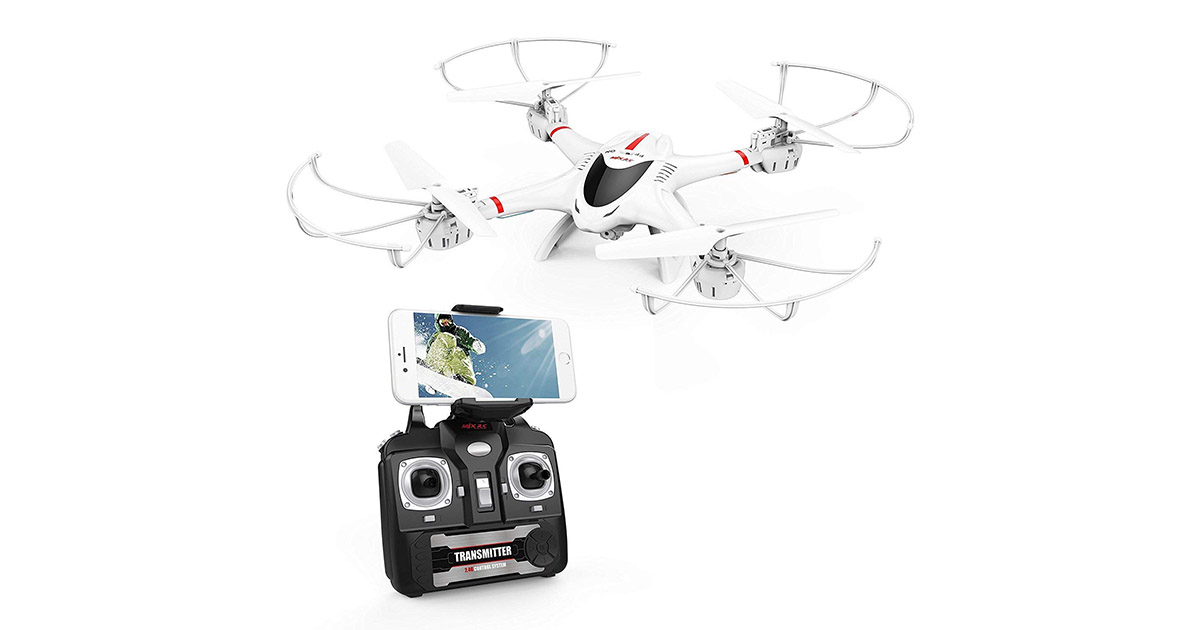 DBPOWER X400W FPV RC Quadcopter Drone image