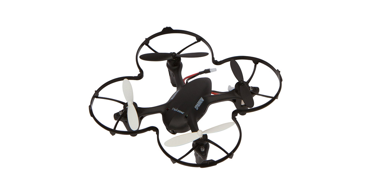 Helizone Sparrow Mini Drone with 2 MP HD Camera Quadcopter image