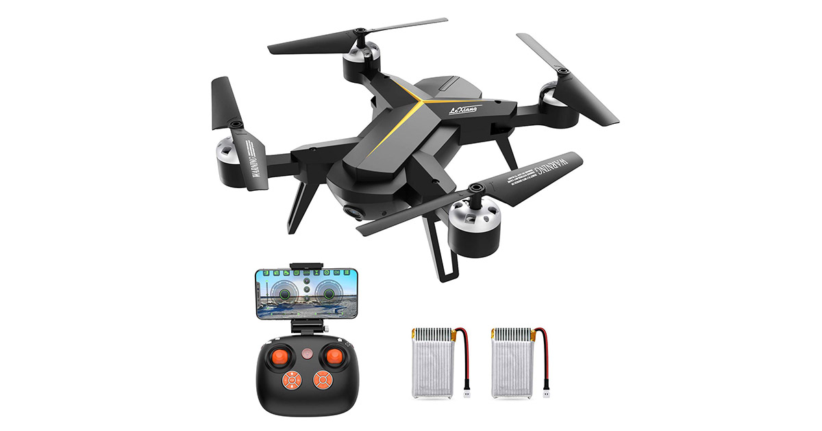 KOOME Drone with 1080P HD Camera for Kids   Adults image