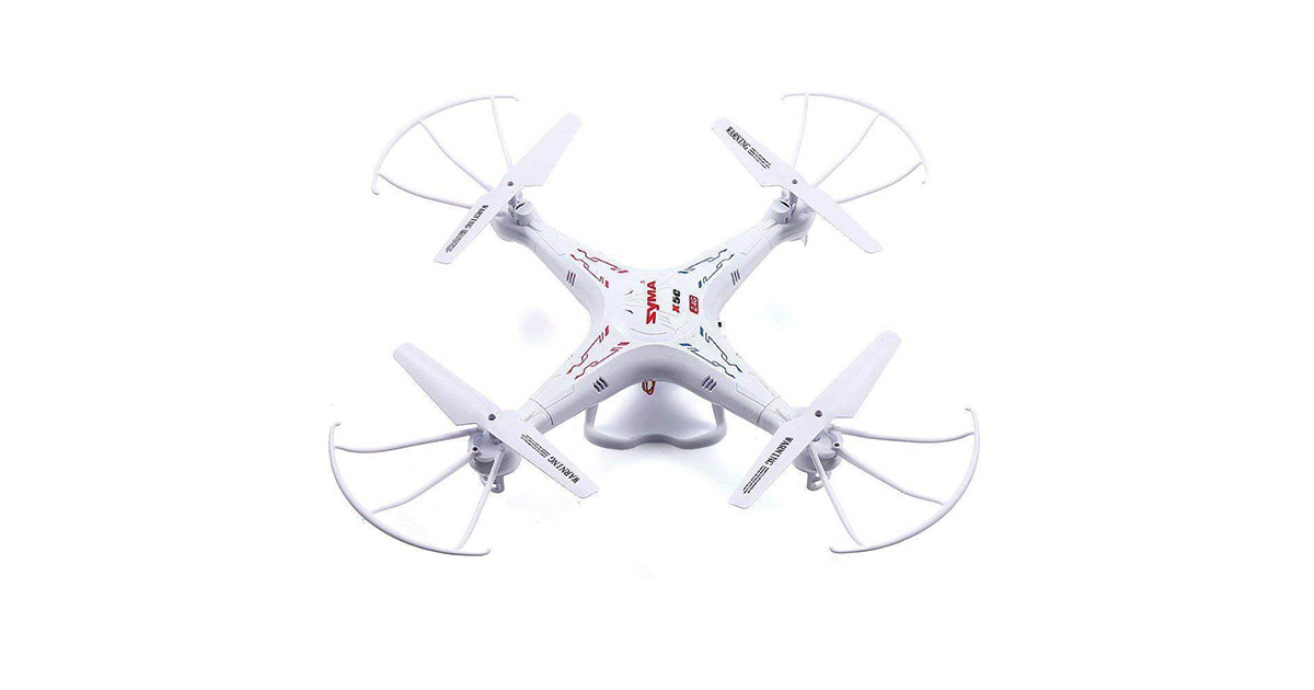 Syma X5C-1 Explorers 2.4Ghz 4CH 6-Axis Gyro RC Quadcopter Drone image
