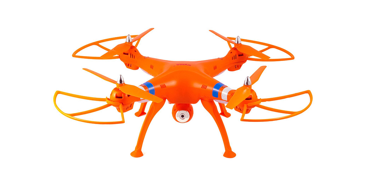 Syma X8C Venture with 2MP Wide Angle Camera 2.4G 4CH RC Quadcopter image