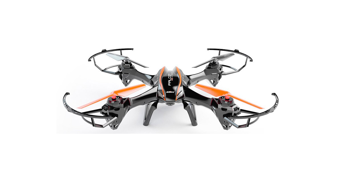 UDI RC-U842 6-Axis Gyro 2.4Ghz Falcon RC Quadcopter image