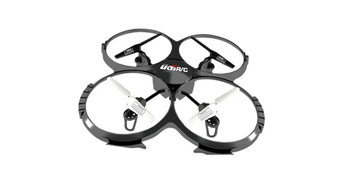UDI U818A 2.4GHz 4 CH 6 Axis Gyro RC Quadcopter with Camera RTF Mode 2 image