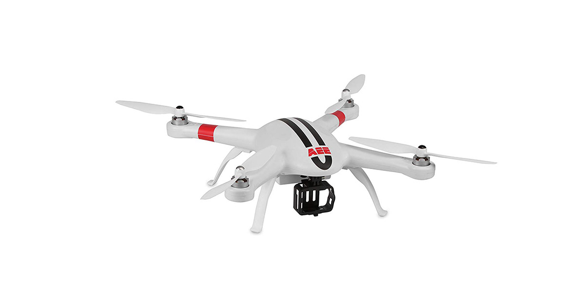 AEE Technology AP9 GPS Drone Quadcopter Aircraft System for AEE S-Series and GoPro Action Cameras image