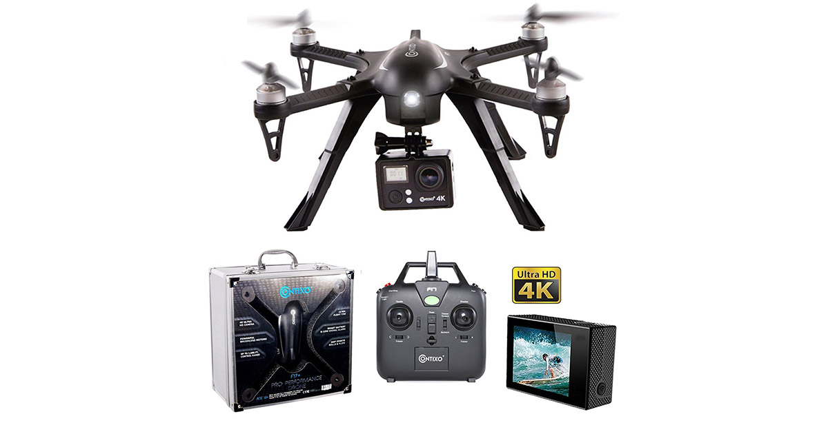 Contixo F17 RC Quadcopter Photography Drone image