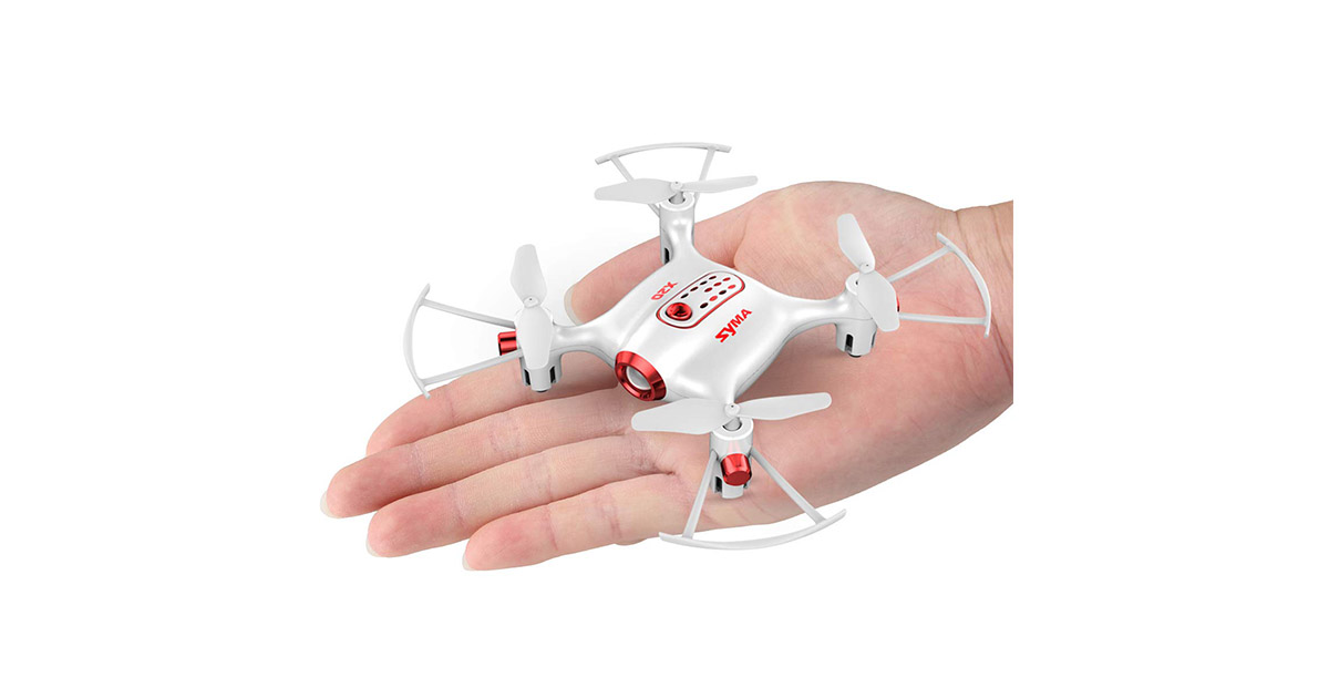 DoDoeleph Newest Syma X20 Mini Pocket Drone image
