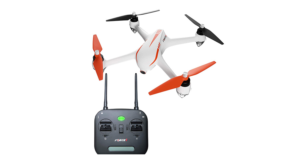 Force1 B2C Specter MJX Bugs 2 1080p Drones with Camera and GPS image