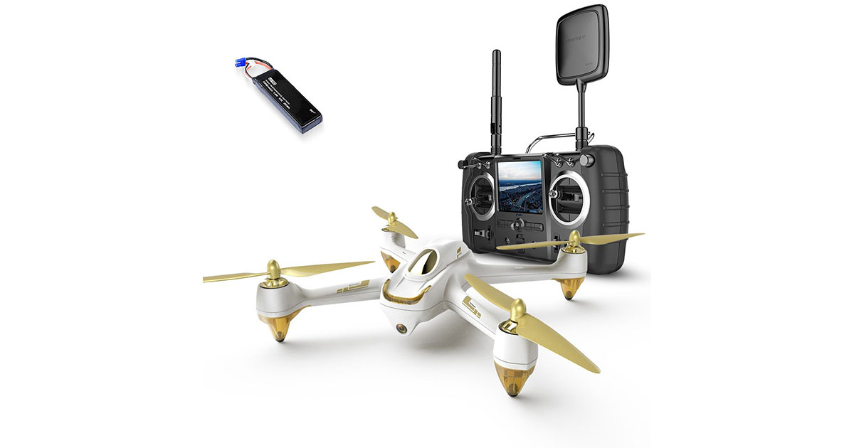 Hubsan H501S Professional Version Mode Switch X4 5.8G FPV Brushless with 1080P HD Camera GPS RC Quadcopter image