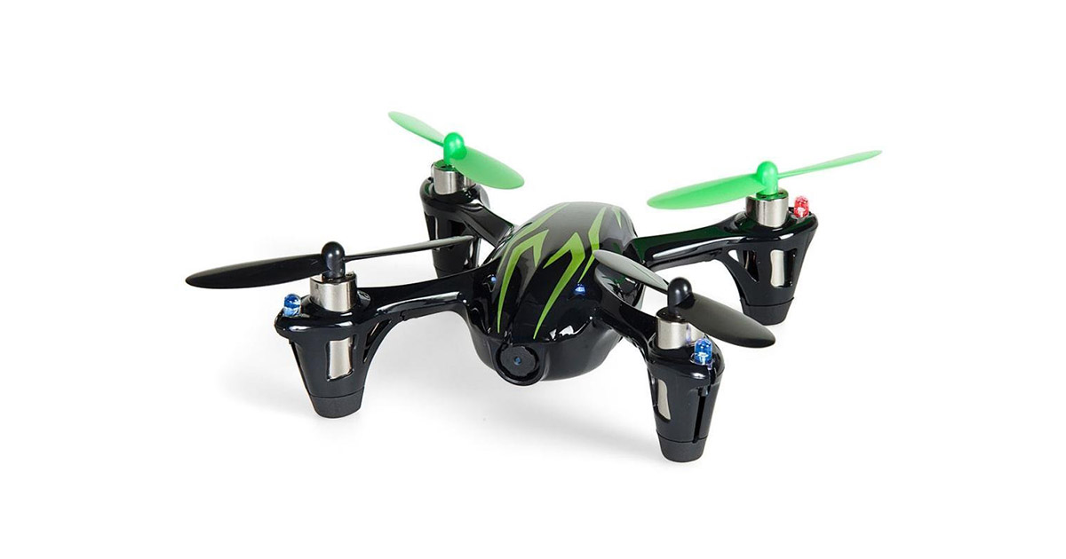 Hubsan X4 H107C 4 Channel 2.4GHz RC Quad Copter image