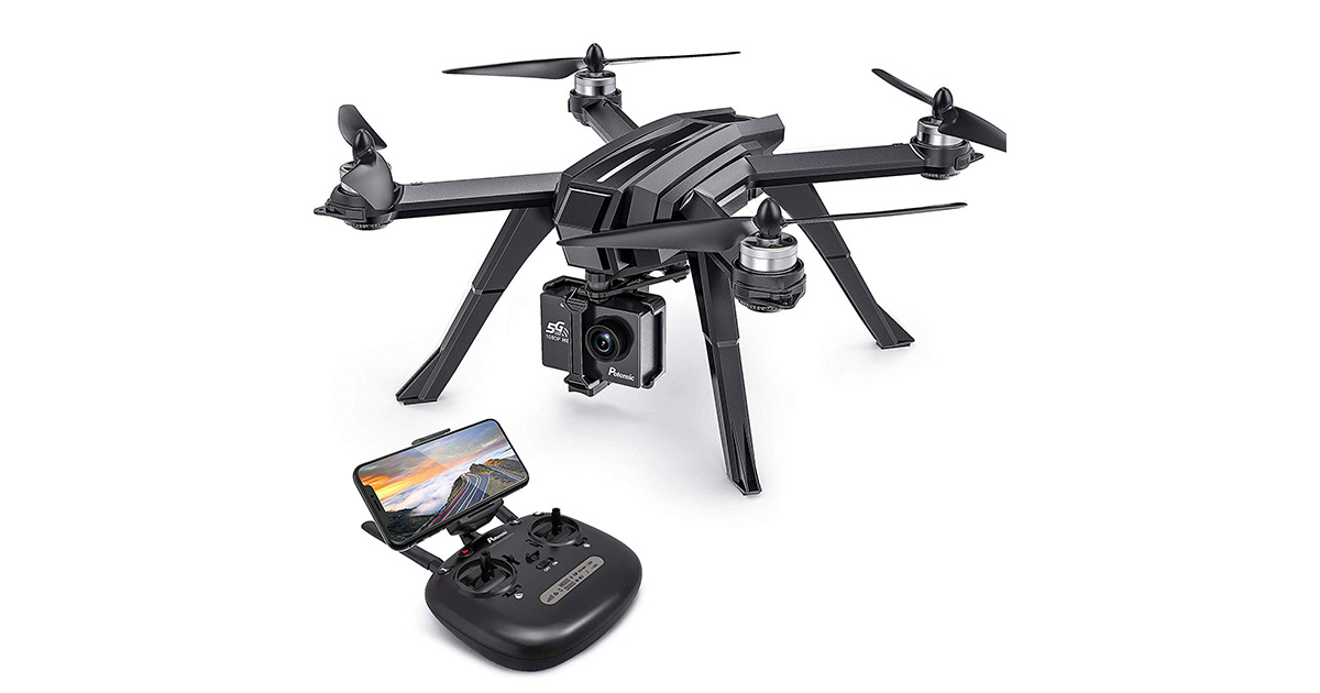 Potensic D85 RC Drone GPS Quadcopter for Adults image