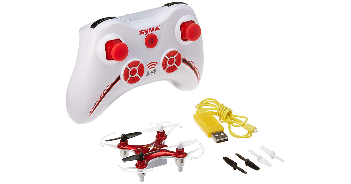 Syma X12 Mini Nano 6-Axis Gyro 4-Channel RC Quadcopter image
