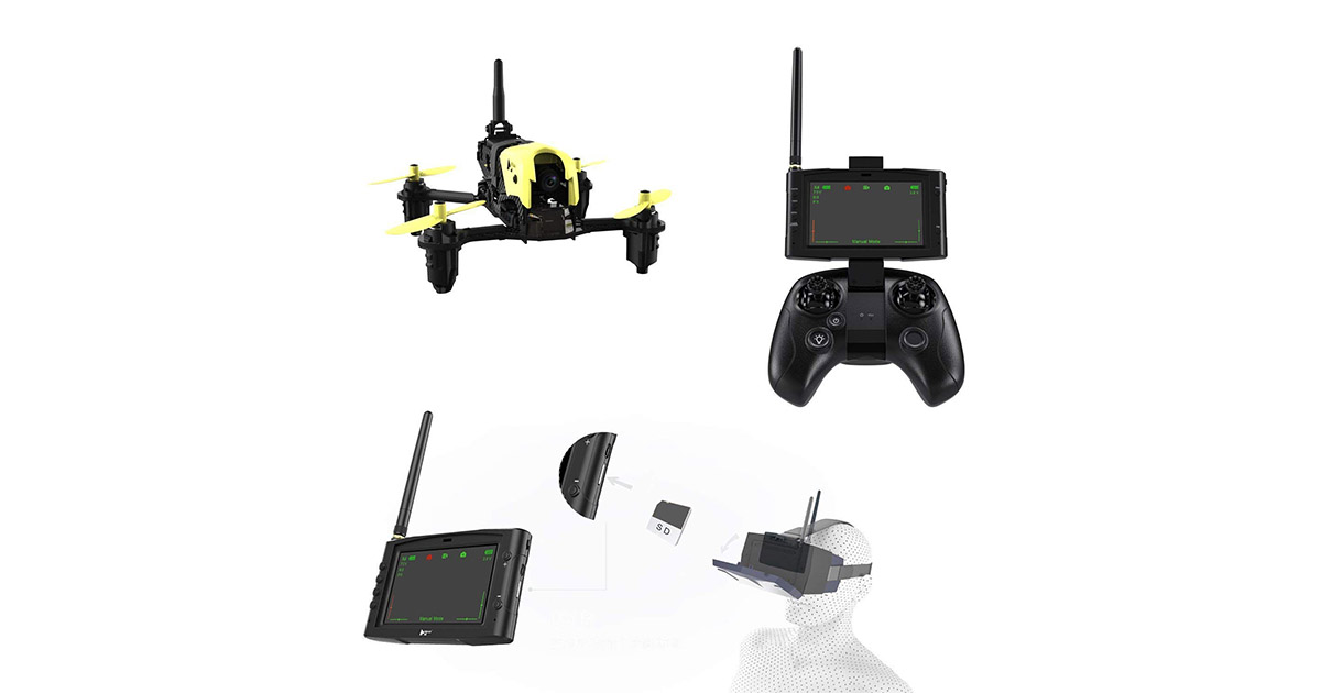 Hubsan X4 Storm Professional Version H122D FPV Racing Drone image