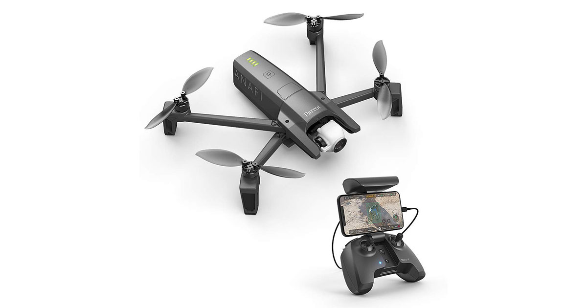 Parrot PF728000 Anafi Foldable Quadcopter Drone image