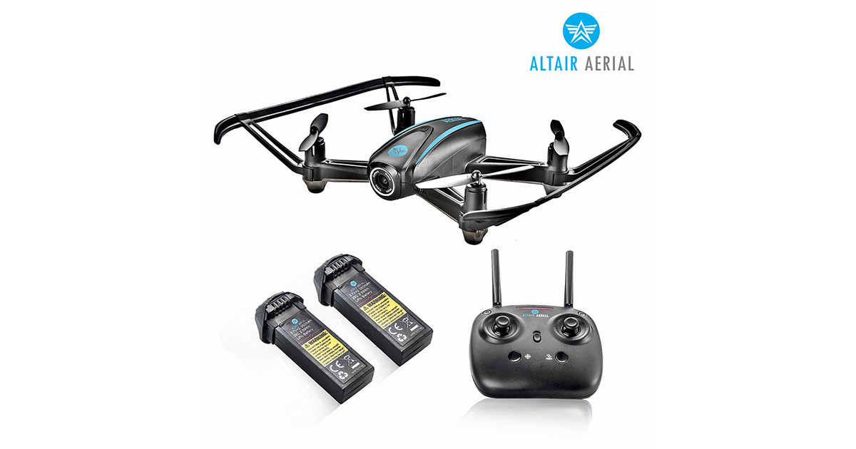 Altair AA108 Camera Drone Great for Kids   Beginners RC Quadcopter image
