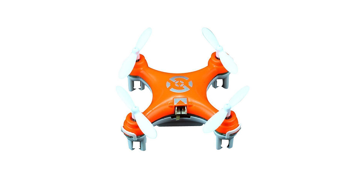 Cheerson CX-10 Mini 2.4G 4CH 6-Axis LED RC Quadcopter Toy Drone image