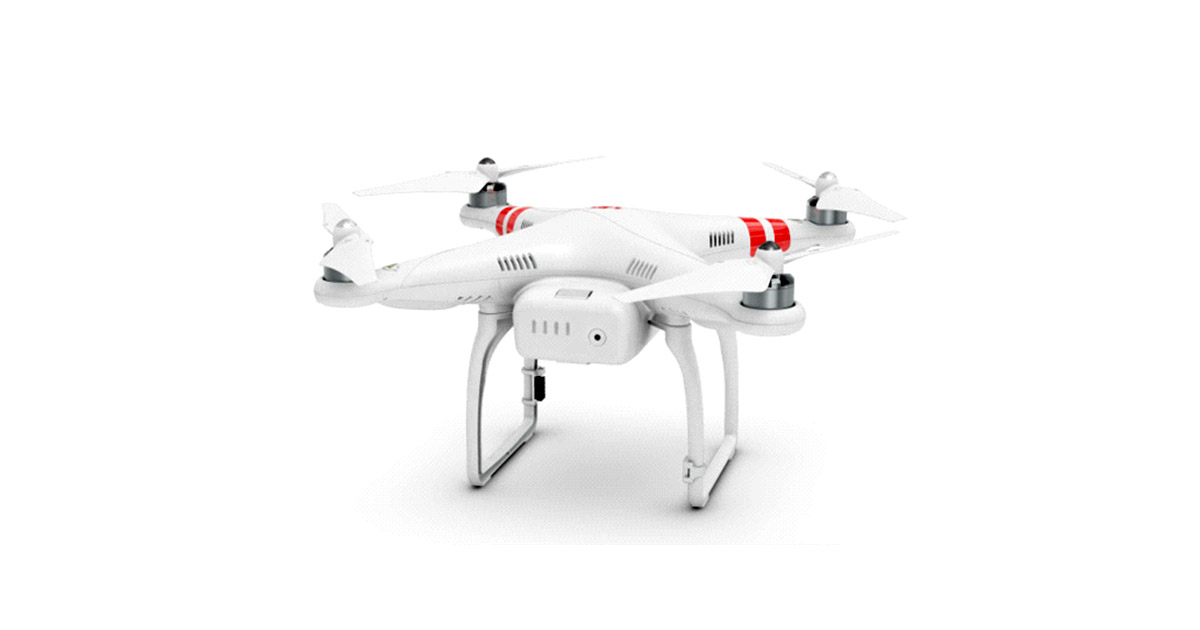 DJI Phantom 2 V2.0 Quadcopter image