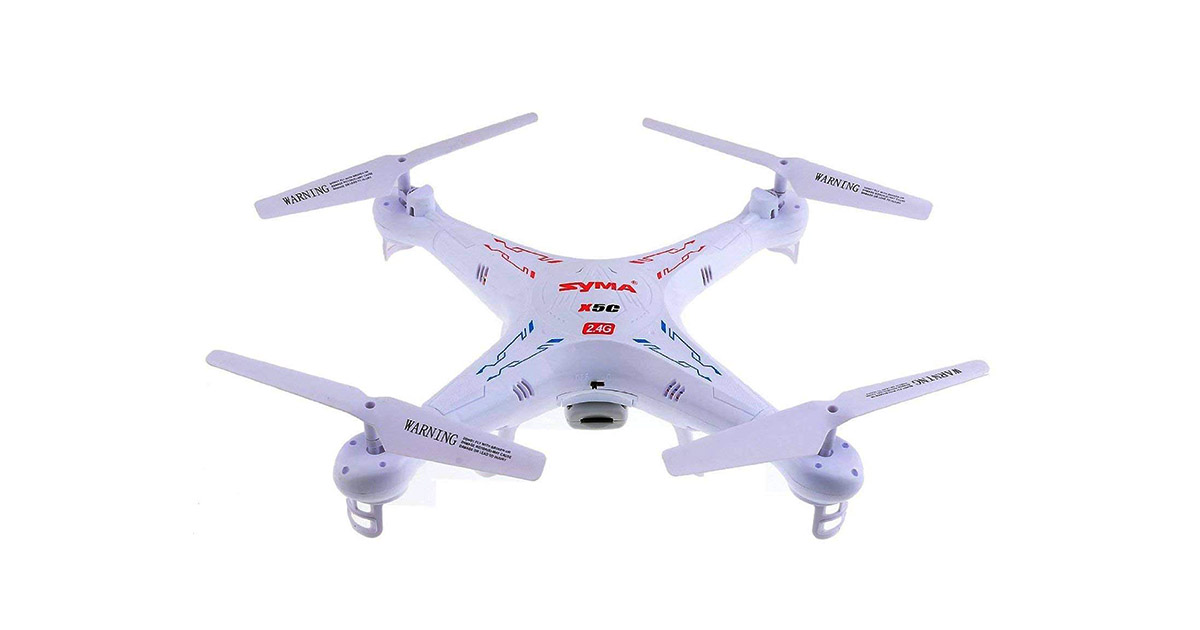 Syma X5C 4 Channel 2.4GHz RC Explorers Quad Copter image