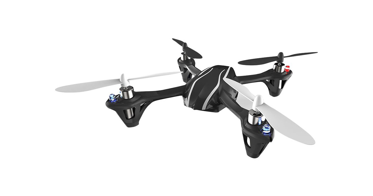 The Hubsan X4 H107 R C Micro Quad Copter image