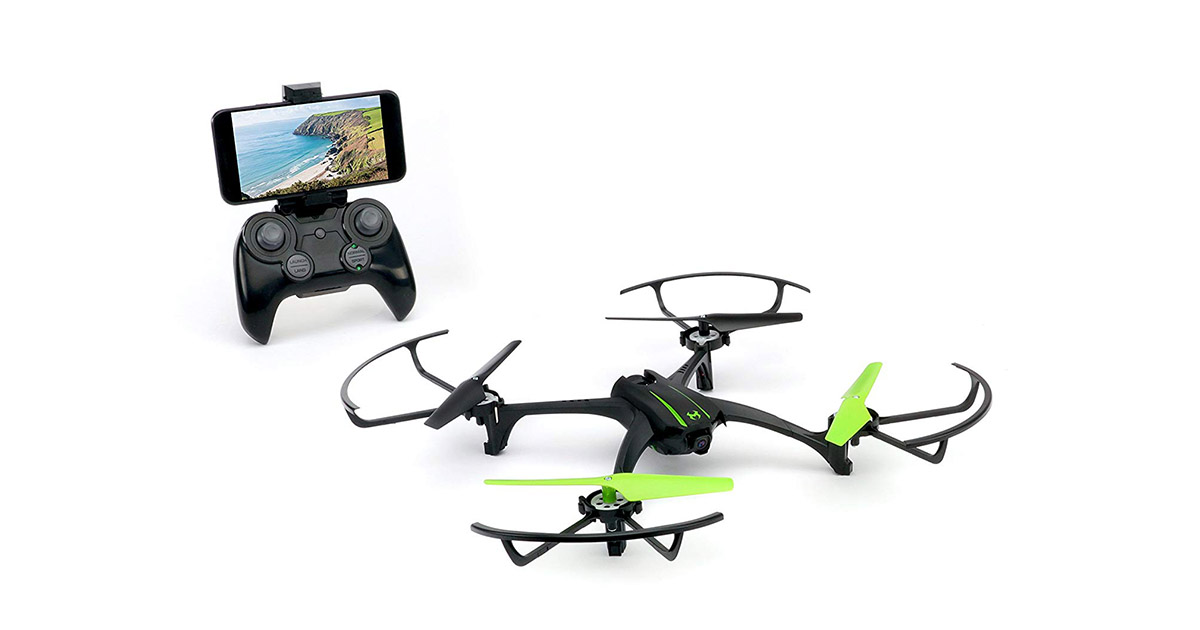 Sky Viper B07G1TSHYR Scout Streaming Video Drone image
