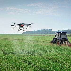 Drones usage in Agriculture field image