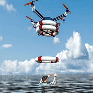 Drones usage in search and rescue image