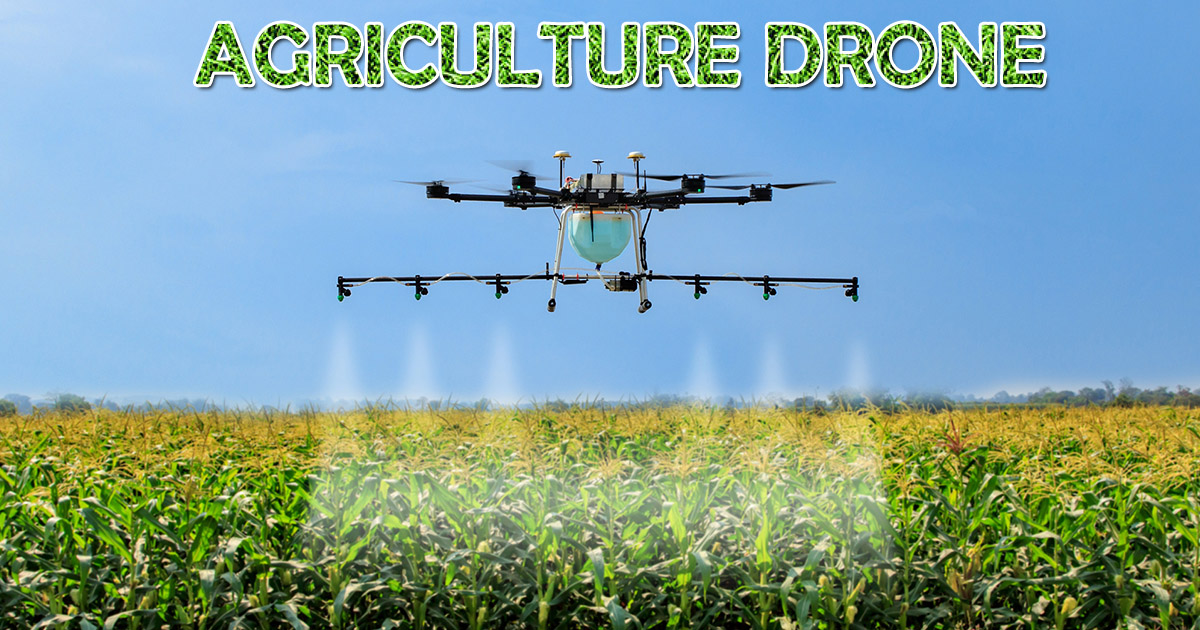 Agriculture Drone image
