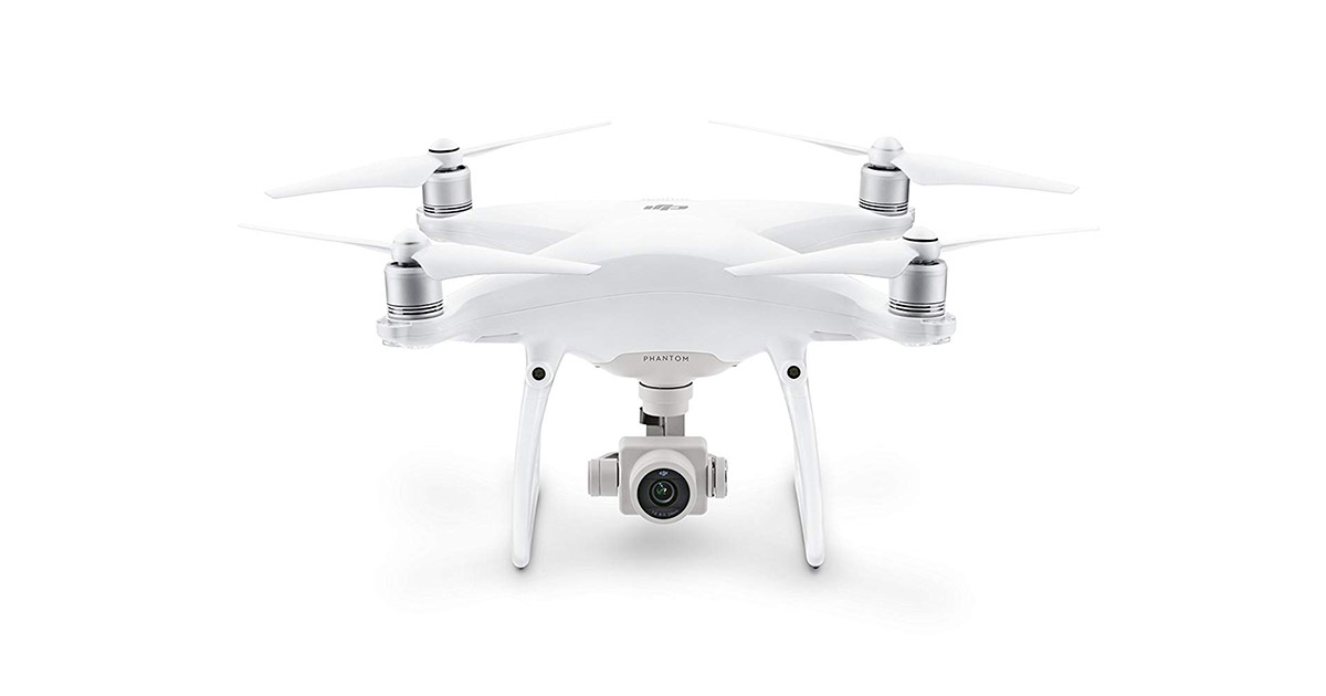 DJI CP.PT.000689 Phantom 4 Advanced White Drone image