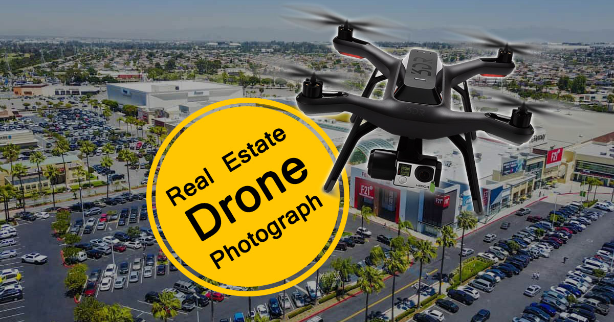 Real Estate Drone Photograph image