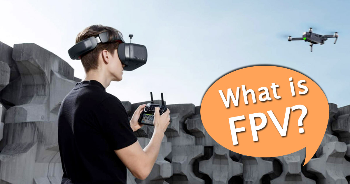 What is FPV Drone image