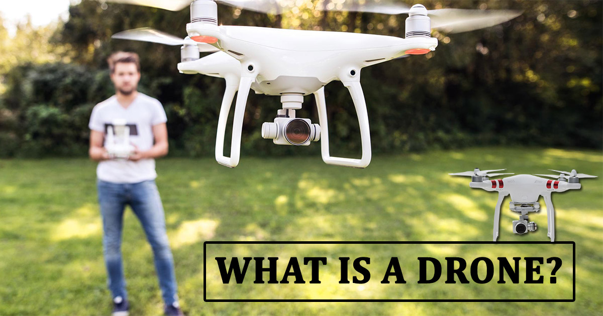 What is a Drone image
