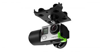 3DR GB11A 3-Axis Gimbal for GoPro Solo Smart Drone image