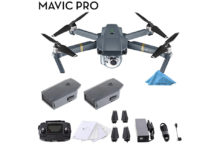 DJI Mavic Pro Latest Quadcopter – You'll be impressed with its great speed & flight time!