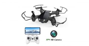 EACHINE E61HW Mini Drone with Camera for Kids and Adults image