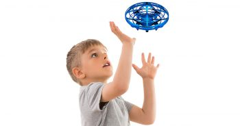 Force1 Scoot Hands Free Mini Drone Helicopter Hand Operated Drones for Kids or Adults image