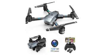 SNAPTAIN A15 Foldable FPV WiFi Drone image